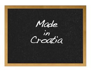 Made in Croatia.