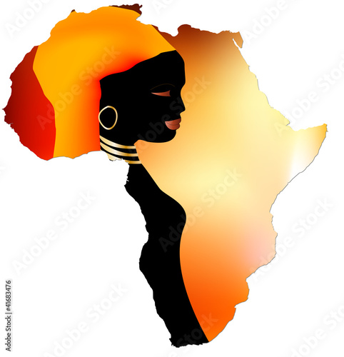 """Dessin De Femme Africaine femmes africaines"""" stock image and royalty-free vector files on"""