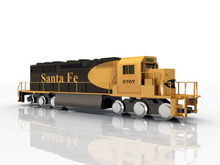 Santa Fe Locomotive