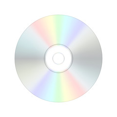 CD digital compact disc. Vector illustration