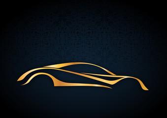 Estetik bir spor araba