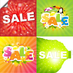 Colorful Sale Posters