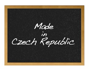 Made in Czech Republic.