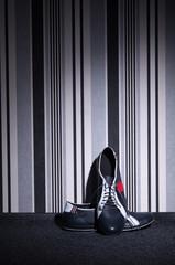 Teens shoes in the studio