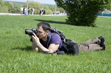Nature photographer