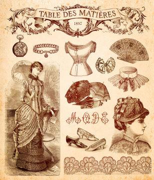 Fond Mode 1897