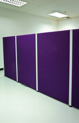 Office cubicle partitions