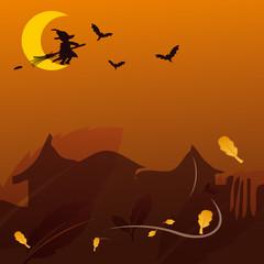 Décor Halloween Fond
