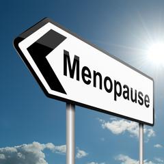 Menopause concept.