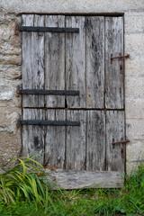 Old farm door