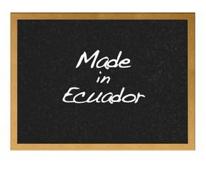 Made in Ecuador.