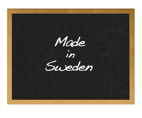 Made in Sweden.