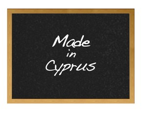 Made in Cyprus.