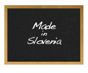 Made in Slovenia.