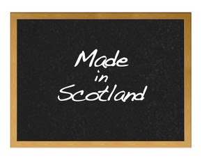 Made in Scotland.