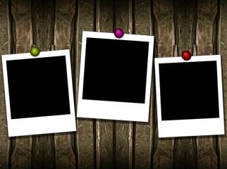 3 polaroid frames