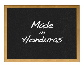 Made in Honduras.