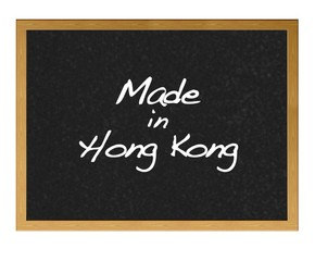 Made in Hong Kong.