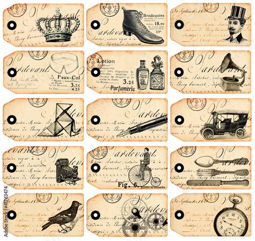15 tiquettes vintage photo libre de droits sur la banque d 39 images image 41763474. Black Bedroom Furniture Sets. Home Design Ideas