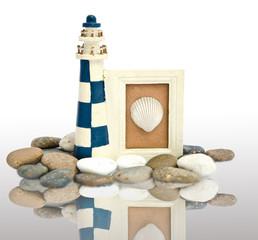 lighthouse wooden frame