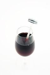 verre de vin rouge à bonne température
