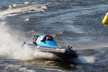 Printed roller blinds Water Motor sports Motor water-sport racing