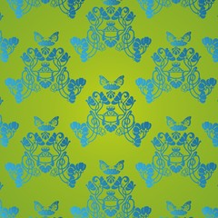 Hintergrund Blumen Muster