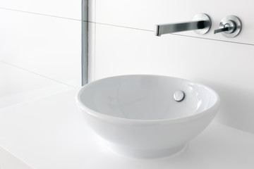 Luxury Trendy Washbasin And Faucet