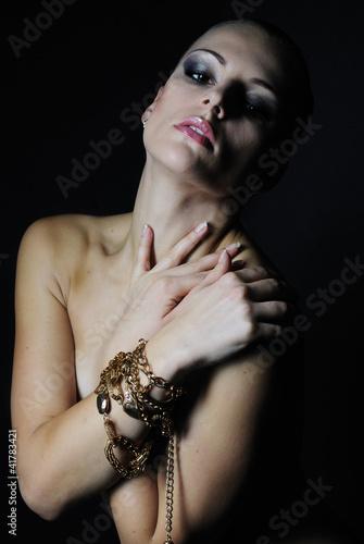 Erotic sensual woman