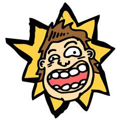 Comedy face