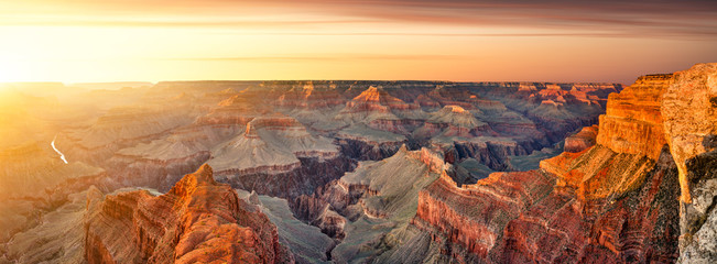 Photo sur Toile Saumon Grand Canyon