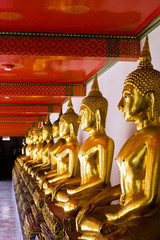 Buddha image statue in Wat Pho Temple