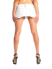 Sexy long female legs isolated white background