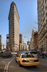 Flatiron District in New York City