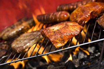 Zeevruchten op de grill