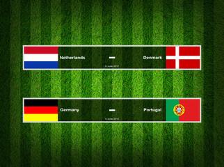 Match Day - 9 June 2012 ,euro 2012 ,Grass Background