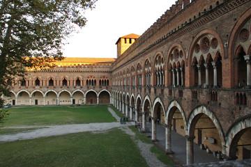Pavia, il castello Wall mural