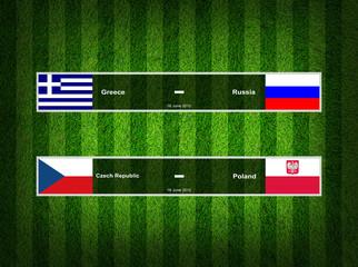 Match Day - 16 June 2012 ,euro 2012 ,Grass Background
