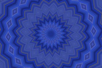 Spoed Foto op Canvas Klassieke abstractie sfondo astratto blu