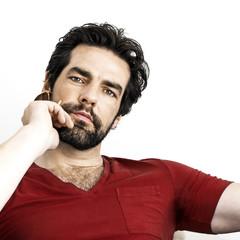 man with beard