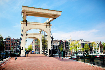 Printed roller blinds Amsterdam The Magere Brug, Skinny Bridge. Amsterdam