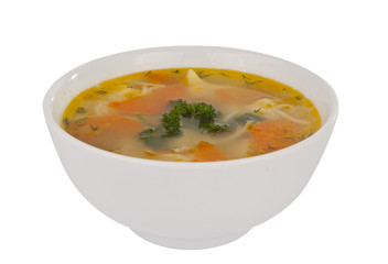 soup isolated