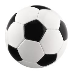 Perfekter Fußball auf Reinweiß
