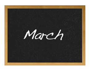 March.