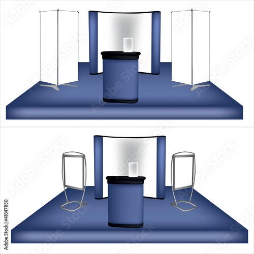 Stand exposition salon fichier vectoriel libre de droits for Stand exposition salon