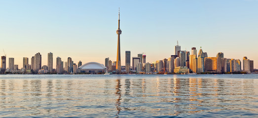 Tuinposter Toronto Toronto skyline Tower downtown skyscrapers