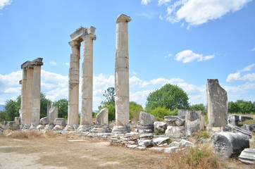 Ruins of Aphrodite goddess temple