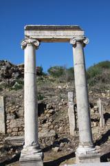 Perge (Perga) Ancient City, Antalya.