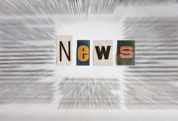 In de dag Kranten news information in newspaper