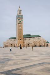 Acrylic Prints Morocco Hassan II Mosque in Casablanca